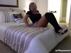 Fucking My MILF Neighbor While Wifey Is Away porn tube video