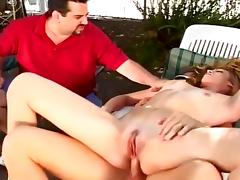 Mrs H Wall Fucks Best Buddys On The Porch porn tube video