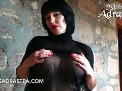 Hot Tits and Nylon porn tube video