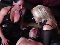Domina Cherie Noir HARD AND UNCUT Extreme Domination kisses porn tube video
