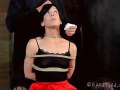 I'll tie you up and give you a treatment that you'll never forget!