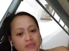 Filipina horny girl masturbating on cam porn tube video