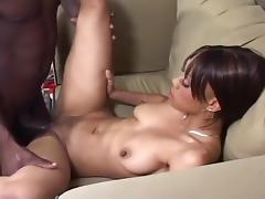 Horny Cappicchino Gets Her Pussy Pleased By Byron Long