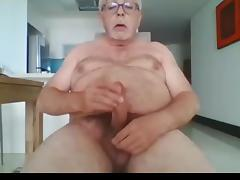 Daddy, Big Cock, Jerking, Monster Cock, Penis, Dad