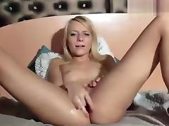 AngeelLily fingering her wet pussy porn tube video