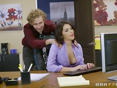 Magnificent Valentina rides the dick of her curly-haired lover porn tube video