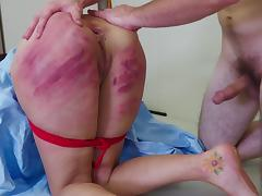 Tanzi has been very naughty and deserves to be punished right now! porn tube video