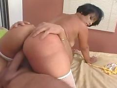 Crazy pornstar in hottest latina, big butt adult clip