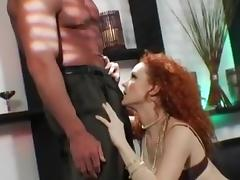 Dirty Talking Red Head Anal Slut Fucks tube porn video