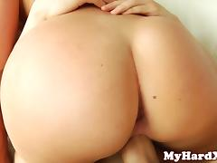 Pornstar AJ Applegate DPed in her tight ass