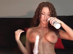 sexy hot big boobed stunner