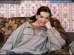 Pretty college girl Goes Through The Motions ! porn tube video