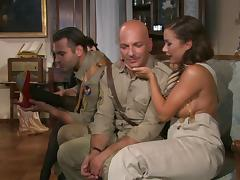 Doggystyle throbbing perfected hardcore by babe in uniform