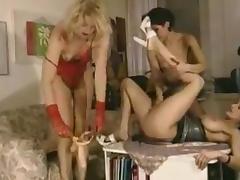 Classic german group sex
