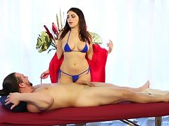Busty Valentina Nappi rides the dick like none other girl can tube porn video