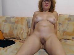 Mature wildly convulses from omibod on cam porn tube video