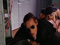 Crazy pornstar Sandy Style in exotic blowjob, big butt sex video