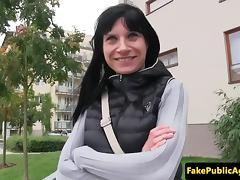 Euro amateur riding a strangers hard cock porn tube video