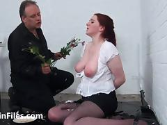 Bizarre spanking and messy humiliation of enslaved Isabel Dean in degrading domination and painfully punished bdsm of crying masochist slut porn tube video