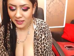 Arab, Arab, Big Tits, Boobs, Dance, Fishnet