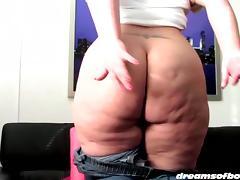 SAMANTHAS BIGBUTT JEANS DESTRUCTION porn tube video