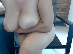 Webcam, BBW, Big Tits, Brunette, Mature, Solo