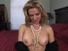 Cougar with fake tits loves when hardcore throbbing is perfected porn tube video