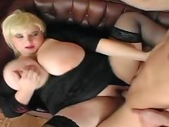 Blonde bbw with giant tits porn tube video
