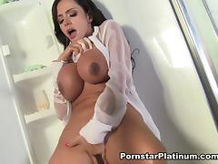 Ariella Ferrera in Sheer Shower - PornstarPlatinum