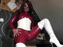 Latex Scharf porn tube video