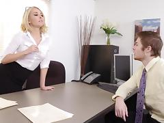 Freaky MILF Aaliyah Love Gives Employee a RAISE porn tube video