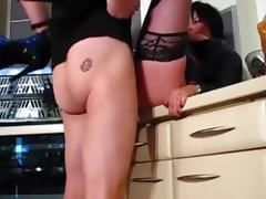 sexy brunette porn tube video