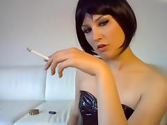 Solo, Amateur, Brunette, Fetish, German, Smoking