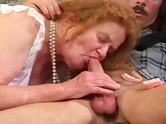 An Old Woman Gets Banged Hard