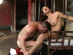 Beautiful Shemale Fucked in Ass