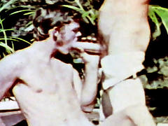 VintageGayLoops Video: John Holmes: First Gay Scene