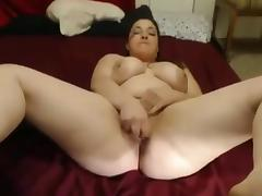 Very Horny Chubby college girl spreading her legs and pussy porn tube video