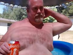 Naked Dad Pool Play tube porn video