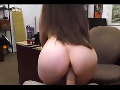 Pawn whips  handcuffs and a face full of cum tube porn video