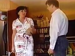 Mrs V gets the Hairbrush porn tube video