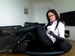 Boots, Boots, Glasses, Mature, MILF, Sex