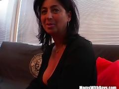Big Boobed Mature Masturbate And Fucked With Facial porn tube video