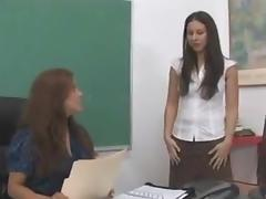 Spanked in the classroom