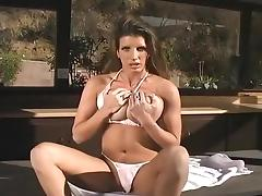 Big Tits, Big Tits, Brunette, Fingering, Masturbation, Outdoor