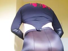 Leggings, Nylon, Pantyhose, Leggings, Satin, Silk