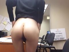 Masurbating In The Office
