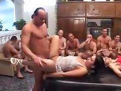 Piss orgy - 6 porn tube video