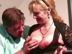 Stepmom, Big Cock, Fucking, German, Hardcore, Monster Cock