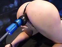 Compilation of different machine fucking tube porn video