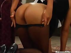 Brunette Girl Taken And Turned Into Slave